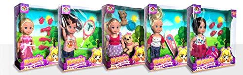 DYNIT KIDS - Maggie e le Sue Amiche Bambola, Modelli Assortiti, DIP76091