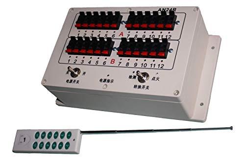 24 Kanal Funkzündanlage für elektrische Zünder/Zündanlage/Pyrotechnik