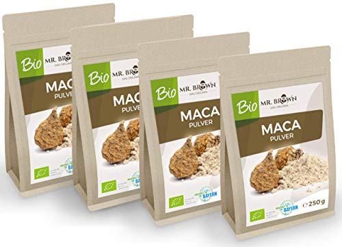 MR. BROWN BIO Maca poeder uit Peru 1 kg fijngemalen