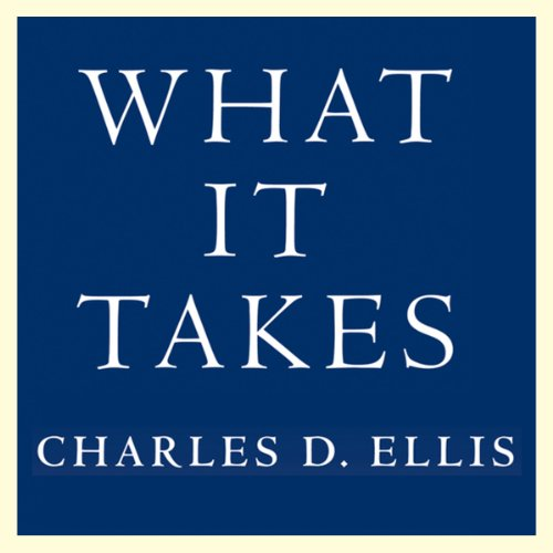What It Takes audiobook cover art