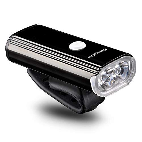 HGFHGD Bicycle Headlight Riding Head 4400mAh 1000 lumens USB Rechargeable Bicycle Headlight 8 Lighting Modes