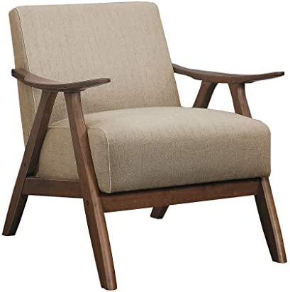 Best Lexicon Fabric Accent Chair, Brown