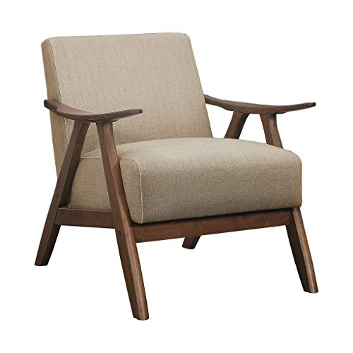 Lexicon Fabric Accent Chair, Brown