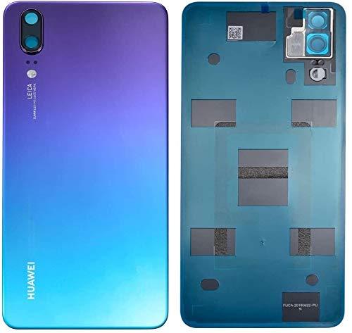 SPES Akkufachdeckel für Huawei P20 (Kein P20 Pro) Akkudeckel Twilight Akku Deckel Batterycover Backcover