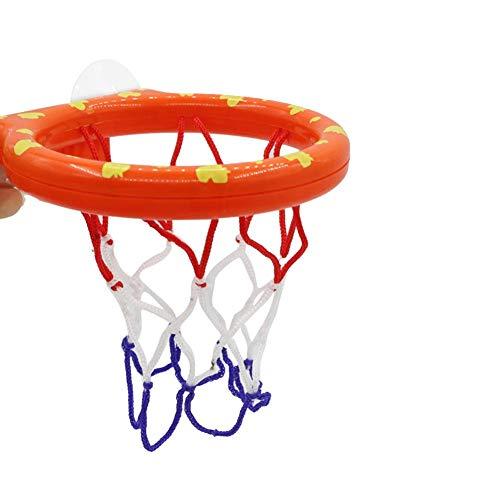 Starter Jouets de bain pour bébé, Jouet de basket de bain pour bébé Ensemble de boules de cerceau de basket-ball de baignoire, Cadeaux Fun Games dans la salle de bain, Facile à installer