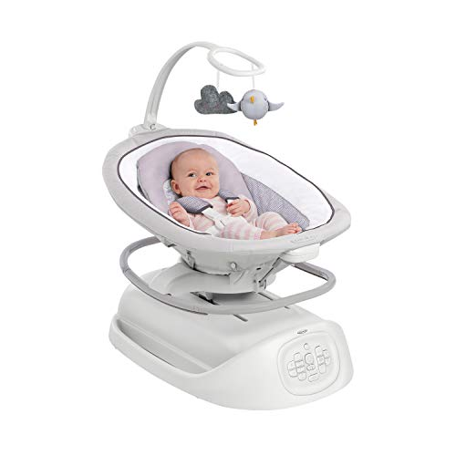 41keLd1KAVL 10 of the Best Baby Swing for Big Heavy Babies 2021 Review