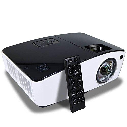 Ultra Short Throw Projector HDMI 4000 ANSI Lumens Data Powerpoint Presentation Business Church Projector