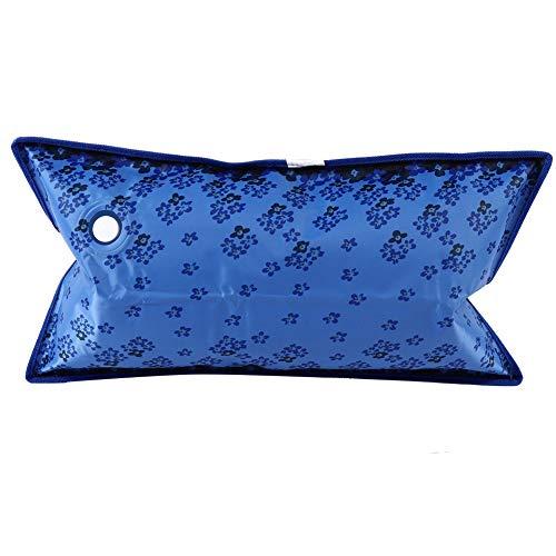 Verdikt ijskussen - schattig koel kussen - waterkussen koelkussen voor thuis of op reis (55 * 35cm donkerblauw)