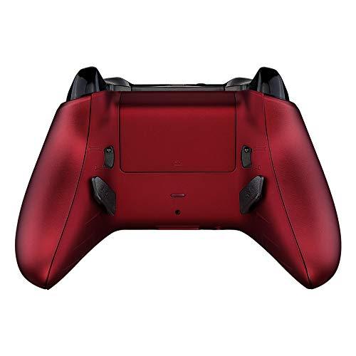 eXtremeRate Lofty Programable Remap&Gatillo de Parada Kit para Mando Xbox One S X(Mod Chip,Carcasa Trasera,Agarre,Botones Traseros,Trigger Lock para Control de Xbox One S X-Modelo 1708)-Rojo Escarlata