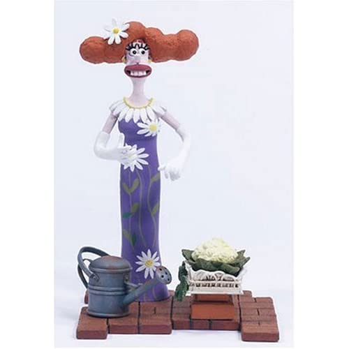 McFarlane Wallace and Gromit and The Curse of The Were Rabbit Lady Tottington Action Figure by Toys