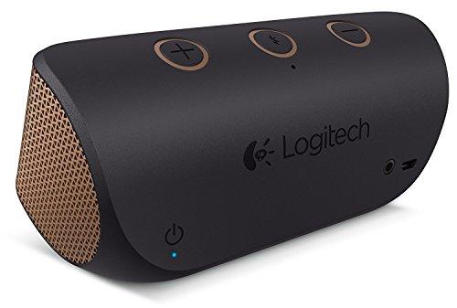 Logitech X300 Mobile Wireless Stereo Speaker, Copper Black