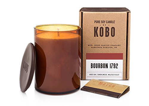 Kobo Candles Kobo Soy Candle, Bourbon 1792