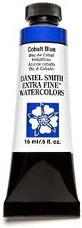 DANIEL SMITH Extra Fine Watercolor 15ml Paint Tube, Cobalt Blue
