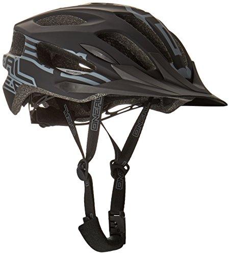 O'NEAL | Mountainbike-Helm | Enduro All-Mountain | Effizientes Ventilationssystem, Größenverstellsystem, EN1078 geprüft | Helmet Q RL | Erwachsene | Schwarz | Größe L/XL/XXL