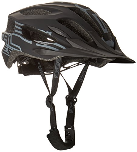O'NEAL | Mountainbike-Helm | Enduro All-Mountain | Effizientes Ventilationssystem, Größenverstellsystem, EN1078 geprüft | Helmet Q RL | Erwachsene | Schwarz | Größe L/XL XXL