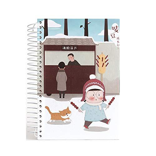 Nowy notatnik dla dzieci z kociakiem A5 notatnik pamiętnik 2019 2020 dla dzieci koreańskie artykuły papiernicze szkolne notatniki artykuły