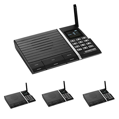 Wireless Intercom System, Samcom FTAN10A