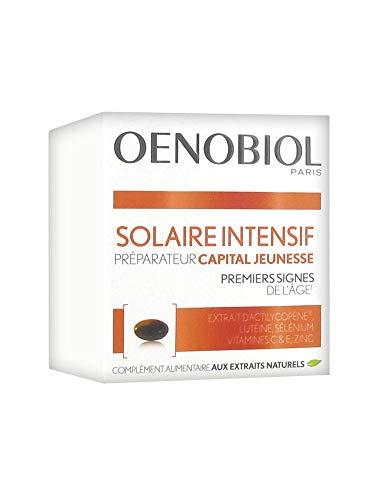 Oenobiol Solar Intensivo Preparador Capital Juventud 30 Cápsulas