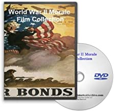 World War II Morale on the Homefront Series Film Collection on DVD - War Bond Drives, 1944 Presidential Election, War Progress Reports and More