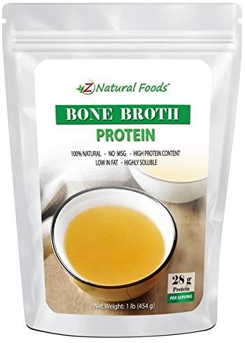 Bone Broth Powder (Bovine) - Made In USA - Protein...