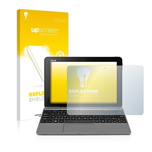 upscreen Entspiegelungs-Schutzfolie kompatibel mit Asus Transformer Book T101 – Anti-Reflex Bildschirmschutz-Folie Matt