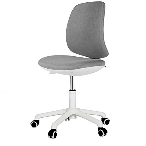 Ali@ Fashion Persoonlijkheid Ademend bureaustoel linnen met verstelbare hoogte draaibare stoel en rugleuning Drafting stoel