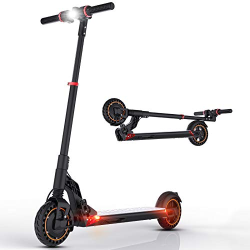 Patinete Eléctrico, Scooter electrico Adulto 30km/h, Potencia de 350W, Alcance de 25 Km, Ajustable la Altura, Batería 7.5AH, Ligero Patinetes Eléctricos Plegable Unisex