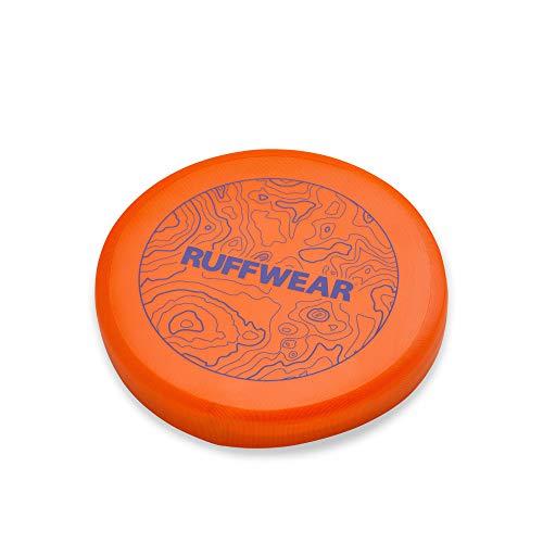 Ruffwear Camp Flyer Frisbee-Hundespielzeug, Frisbeescheibe aus Gummi für Hunde