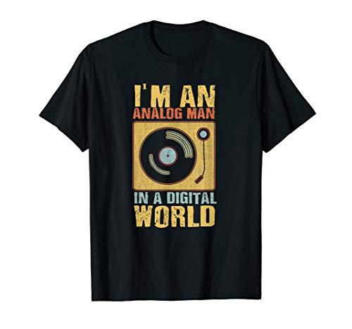 Retro Vinyl LP Schallplatte | Vintage Vinyls Geschenk T-Shirt