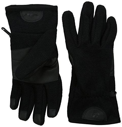Timberland Herren Handschuh aus Wollmischgewebe mit Touchscreen-Technologie - Schwarz - Mittel