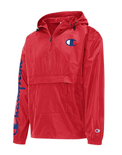 Champion Herren Packable Jacket Jacke, scharlachrot, Medium
