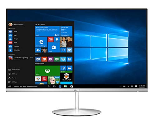 Newest Asus Zen AiO All-In-One Premium 23.8' FHD Touchscreen Desktop | Intel Core i7-8750H | 12GB RAM | 1TB HDD and 128GB SSD | GeForce GTX 1050