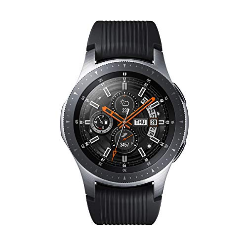 Samsung Galaxy Watch 46mm Silver (Black Strap) Bluetooth Version
