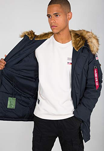 Alpha Industries Polar t Veste mi-saison Rep Blue,