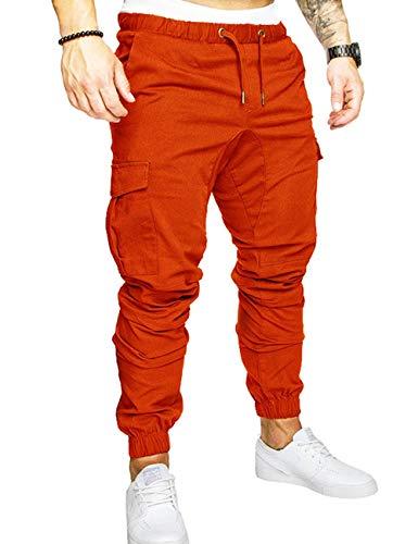 SOMTHRON - Pantalones Cortos Deporte Hombre, Cintura