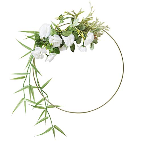 YANSHON 6 Stück Metallringe, 30cm Drahtring, Traumfänger Ringe, für Traumfänger DIY Basteln Dekoration Zubehör