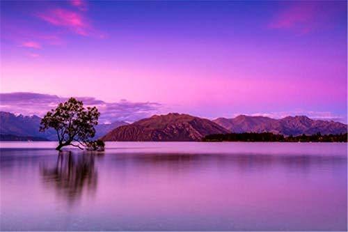 Houten Puzzels - Landschap Puzzel Voor Volwassenen, Nijntje Fjord, Nieuw-Zeeland, Geweldig Educatief Cadeau Voor Kinderen - 35 Tabletten(Houten Fotolijst)