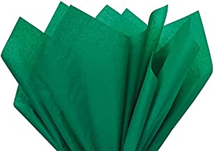 Emerald Green Tissue Paper 15 Inch X 20 Inch - 100 Sheets Premium Tissue Paper A1 bakery supplies