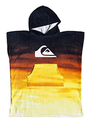 Quiksilver Hoody Towel Beach Supplies, Niños, Tiger Orange, 1SZ