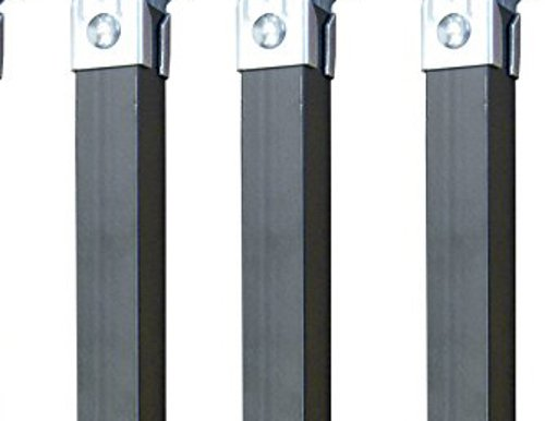 36.50x5.00x3.00 cm IMEX EL ZORRO Juego de Patas Metal Neutro
