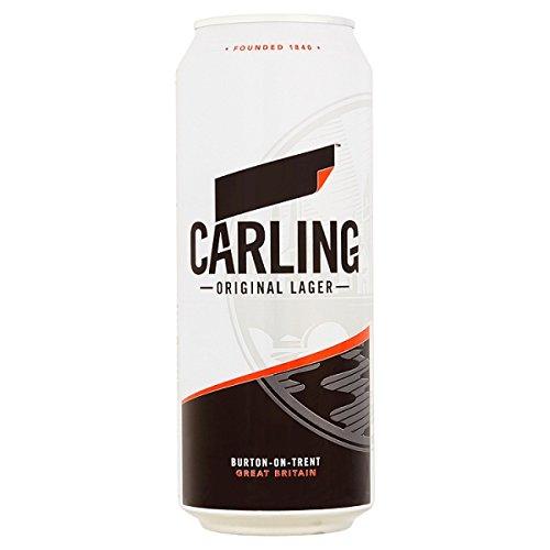 Carling Original-Lager 4 x 500 ml (Packung mit 6 x 4x500ml)