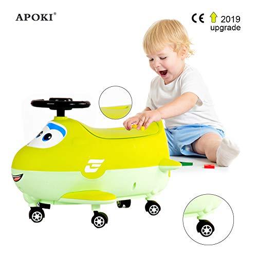 Vasino Per Bambini+Auto Per Bambini,Wc Per Bambini,Vasino Dell'Ochetta 2 In 1,Per Ragazzo.Staccabile.CapacitàDi Carico:45Kg