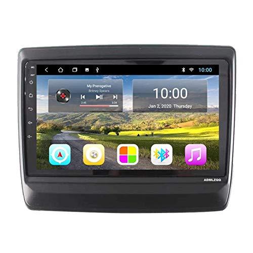 WY-CAR Unidad Principal Estéreo De Coche con Android 8.1 Doble DIN para Isuzu DMAX 2020, Pantalla Táctil Completa 2.5D De 9 Pulgadas, GPS/FM/RDS/Bluetooth/Controles del Volante/Enlace Espejo