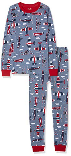 Hatley Organic Cotton Long Sleeve Printed Pyjama Sets