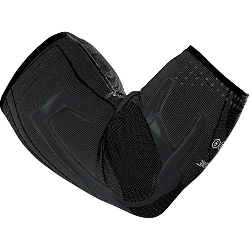 DonJoy Performance Trizone Compression Sleeve Elbow Support Brace, Medium - Black