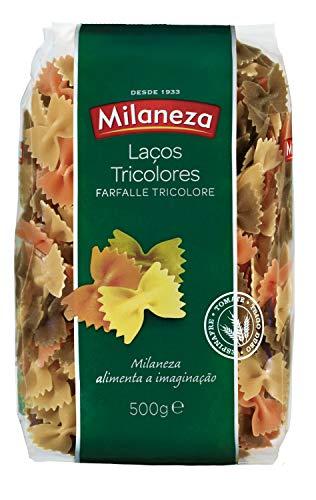 Milaneza Farfalle Tricolor Pasta, 500 G