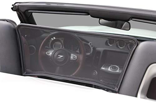 Aperta Windschott passend für Nissan 370Z Z34 100% Passgenau OEM Qualität Schwarz Windstop Windabweiser