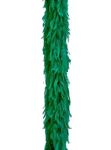Verde boa di piume