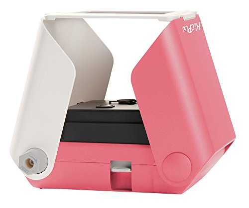 TOMY KIIPIX - Imprimante Photo Portable Rose E72753, Mini Imprimante Photo Couleur 1 ppm, Imprimante...