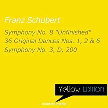 """Yellow Edition - Schubert: Symphony No. 8 """"Unfinished"""" & Symphony No. 3, D. 200"""